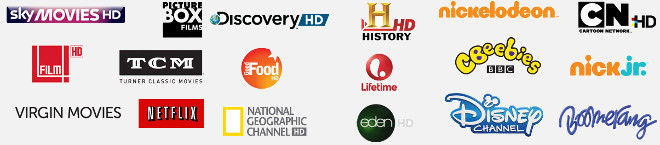 virgin media channels