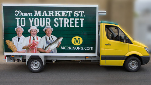 morrisons delivery van