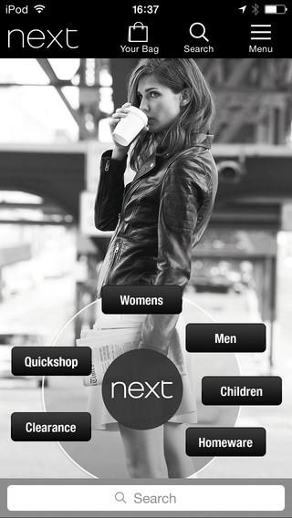 Next mobile app