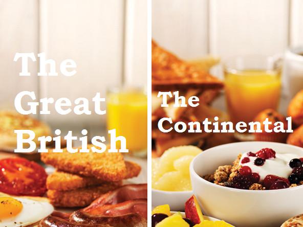Premier Inn breakfasts