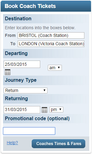 National Express promo code