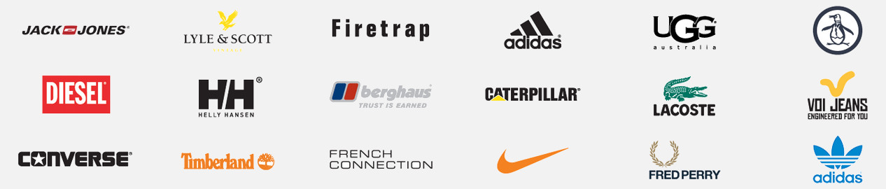 Brands at MandM Direct