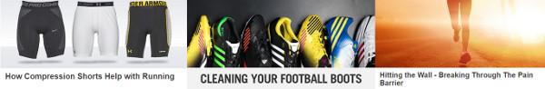 MandM Direct sportswear guides