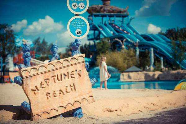 Thorpe park beach