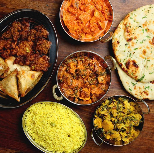 just eat indian takeaway