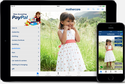 Mothercare mobile app