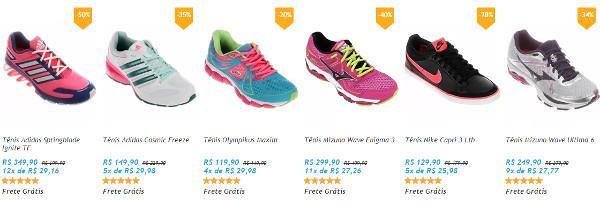Tenis Feminino Netshoes