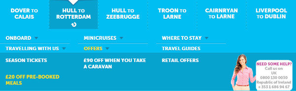 P&O Ferries offers