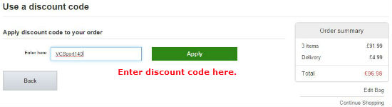 Sports Direct voucher code