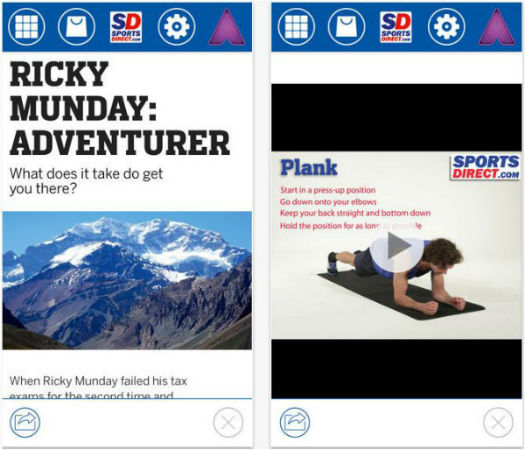 Sports Direct Mobile App