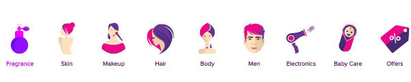 Purple Beauty products