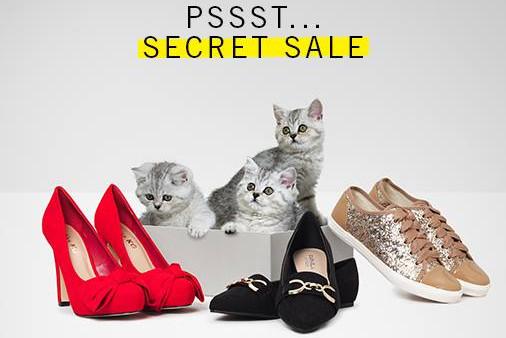 Secret sales Shoeaholics